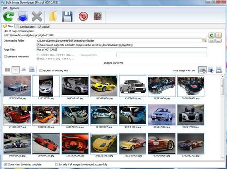 Capture d'écran Bulk Image Downloader