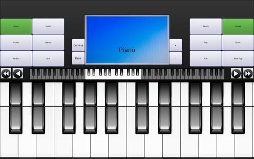 Capture d'écran Portable Piano Guitar Qanun