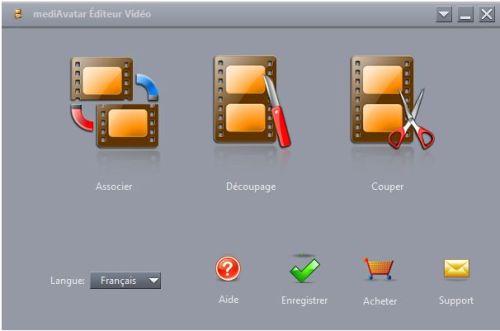 Capture d'écran mediAvatar Editeur Vidéo