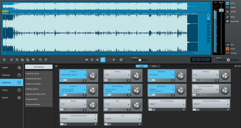 Capture d'écran MAGIX Audio Cleaning Lab