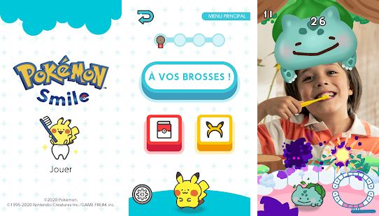 Capture d'écran Pokémon Smile Android