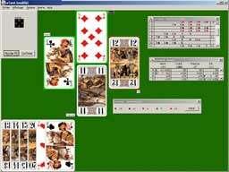 Capture d'écran Le Tarot (Java Edition)