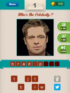 Capture d'écran Who's The Celebrity ?