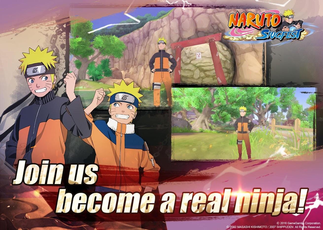Capture d'écran Naruto Slugfest Android