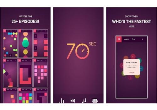 Capture d'écran 70 seconds iOS