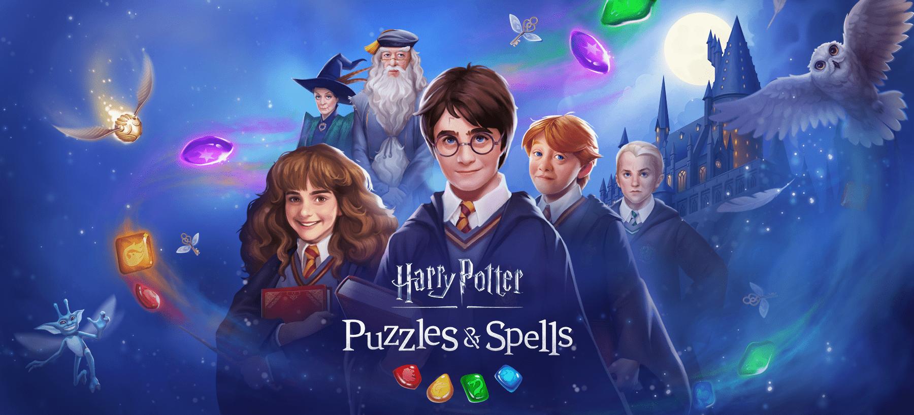 Capture d'écran Harry Potter: Puzzles and Spells Android
