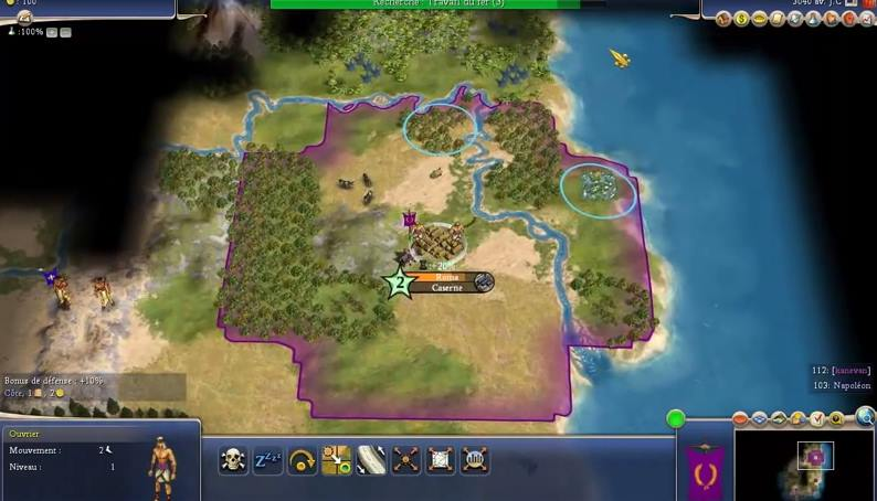 Capture d'écran Civilization 4