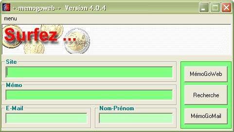 Capture d'écran MemoGoWeb