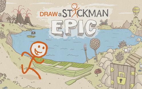 Capture d'écran Draw a Stickman: EPIC Free