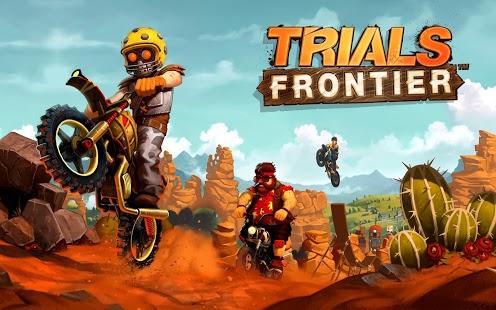 Capture d'écran Trials Frontier Android