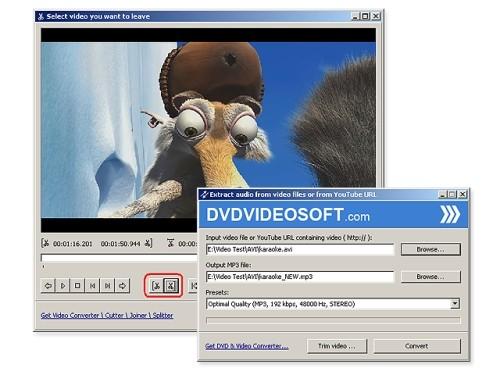 Capture d'écran Free Video to MP3 Converter