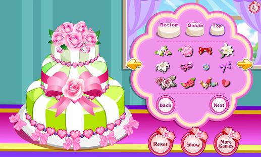 Capture d'écran Jeu de gâteau pour marié