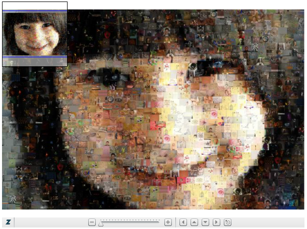 Capture d'écran Foto-Mosaik-Edda Linux