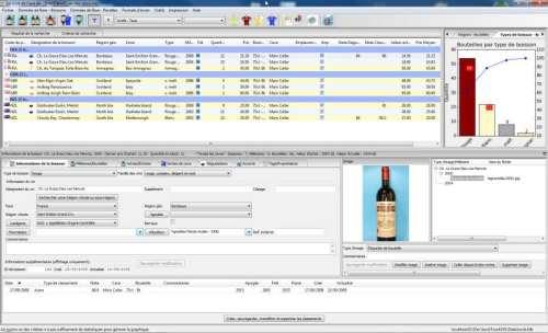 Capture d'écran The Wine Cellar Book