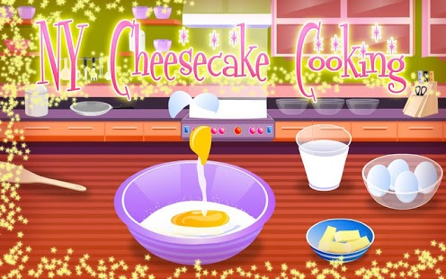 Capture d'écran NY Cheesecake – Cooking Games