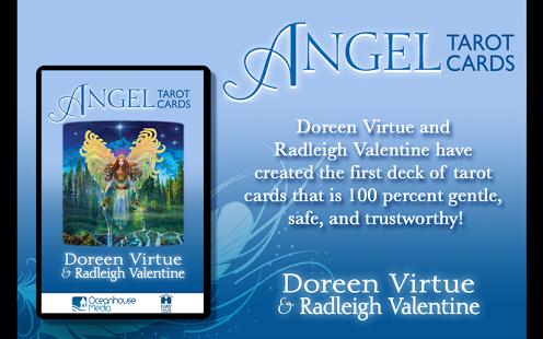 Capture d'écran Angel Tarot Cards