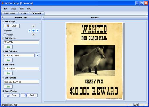 Capture d'écran Poster Forge