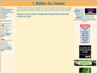 Capture d'écran Atelier Pronostics