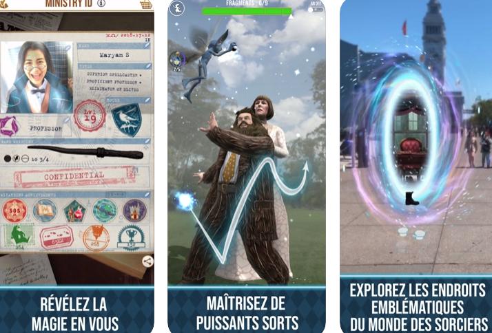 Capture d'écran Harry Potter : Wizards Unite iOS