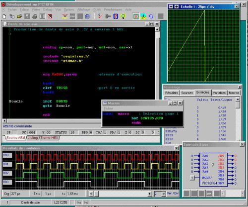 Capture d'écran DevPic84