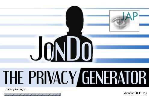 Capture d'écran JAP JonDo