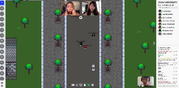 Capture d'écran Gather Town