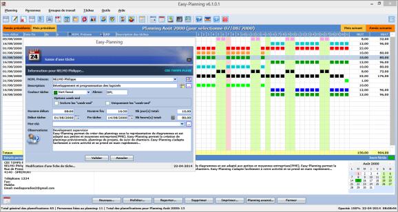 Capture d'écran Easy-Planning