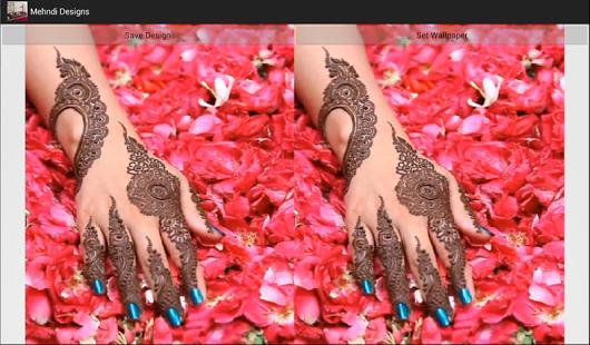 Capture d'écran Mehndi Designs