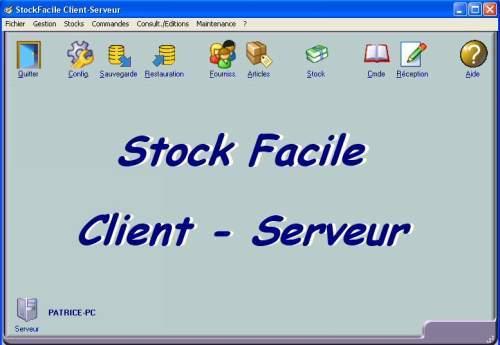 Capture d'écran Stock Facile Réseau