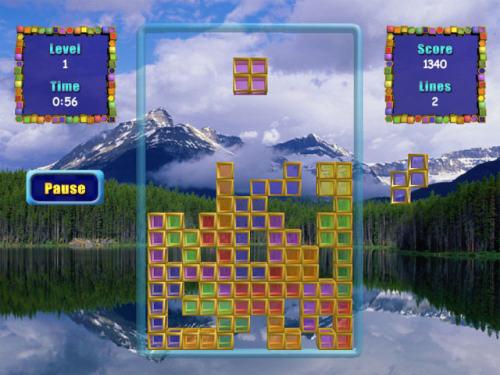 Capture d'écran Tatris 2008