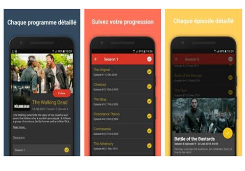 Capture d'écran Hobi – Rappels de séries TV Android