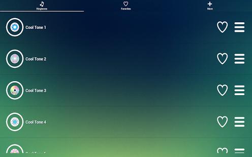 Capture d'écran Cool Sonneries