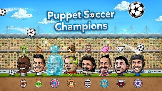 Capture d'écran Puppet Soccer Champions – 2014
