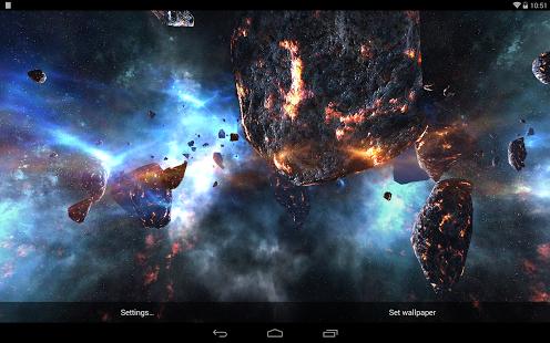 Capture d'écran Asteroids Pack