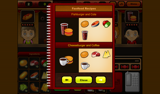 Capture d'écran Fastfood Bar Free