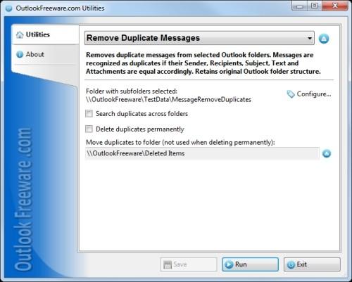 Capture d'écran Remove Duplicate Messages