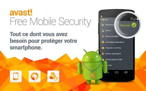Capture d'écran Mobile Security