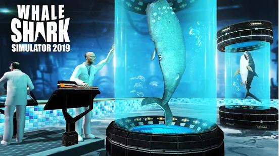 Capture d'écran Whale Shark Attack Simulator Android