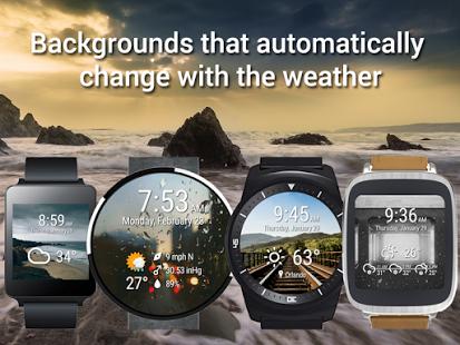Capture d'écran Weather Time for Wear