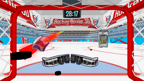 Capture d'écran Ice Hockey Goalie 3D