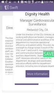 Capture d'écran Swift Job Search