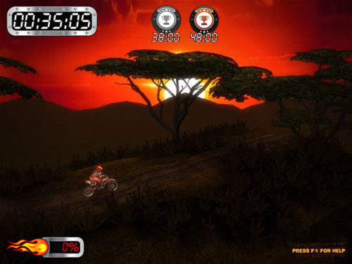 Capture d'écran Super Motocross Africa