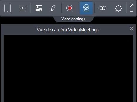 Capture d'écran VideoMeeting+