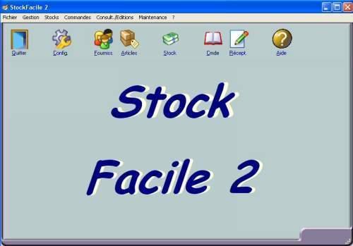 Capture d'écran Stock Facile 2