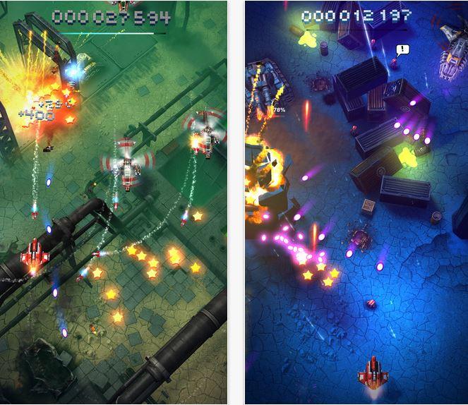Capture d'écran Sky Force Reloaded Android