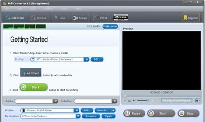 Capture d'écran Full Converter