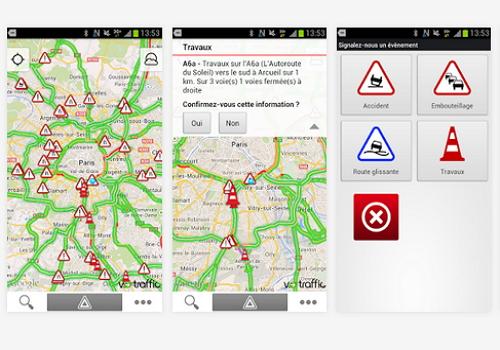 Capture d'écran V-Traffic Android