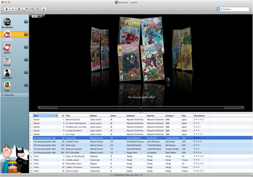 Capture d'écran Numento