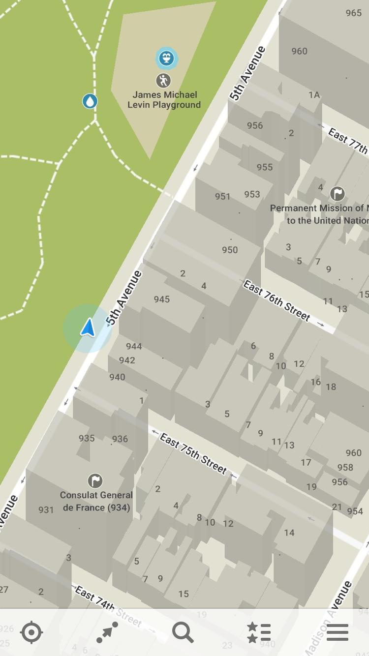Capture d'écran MAPS.ME for Android 8.3.6-Google