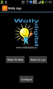 Capture d'écran Wolly App